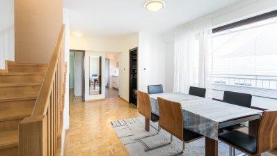 Zagreb, Maksimir, Kozjak, modern three bedroom duplex apartment 128m2