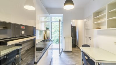 Zagreb, center, Medveščak, newly renovated three bedroom apartment for rent