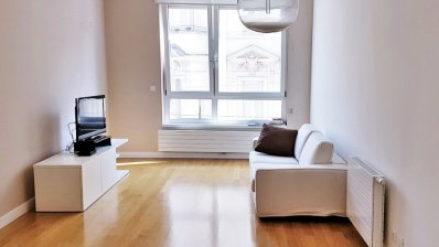 City center, new building, luxury two bedroom apartment with garage
