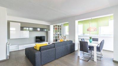 Vrbik, Savska street, beautiful one bedroom apartment NKP 92 m2