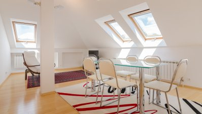 Medveščak two bedroom loft 70 m2 for rent