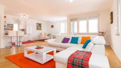 Beautiful three-bedroom penthouse for sale on Gracanska cesta