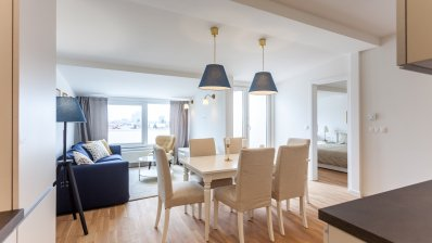 Selska, one bedroom penthouse with excellent view of the city