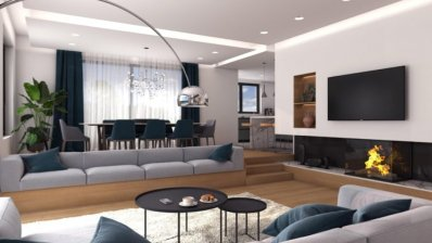 Maksimir Gornji Bukovac a luxurious four-bedroom apartment new building