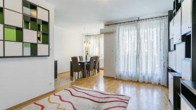 Zagreb, Rapska, excellent three bedroom apartment, lift + loggia + parking