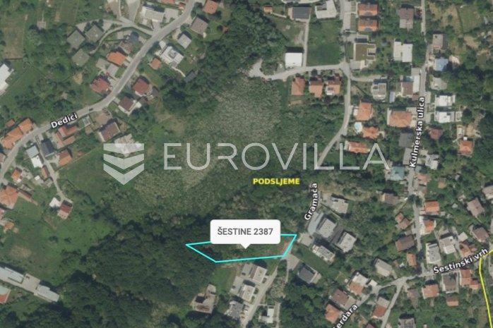 Sestine Gramaca Land Plot 2140 M2 Eurovilla Hr